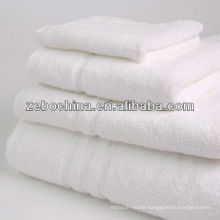 Direct factory made deluxe 100% cotton wholesale 5 star hotel quality towels