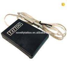 N1007-12 pedal de tatuagem profissional comutado para máquina de tatuagem