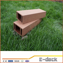 Recycled Anti-UV brushed surface wood plastic composite WPC post