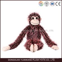 Personalizado Barato Braços Longos e Pernas Macaco Brinquedo de Pelúcia para a Menina