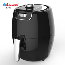 Anbolife zero oil como se ve en tv air freidora purificador de aire de uso doméstico con generador de oxígeno freidora de aire