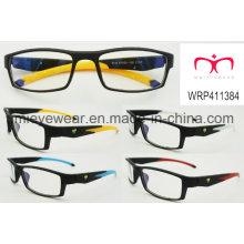 Nueva moda plástico gafas eyewearframe marco óptico (wrp411384)
