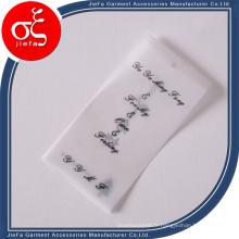 Étiquette volante de papier parchemin de prix d'usine / étiquette transparente colorée de papier calque