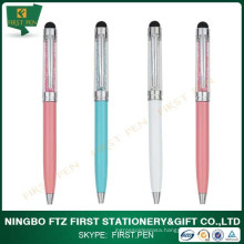 First Y223 Hot Sale Crystal Pen With Stylus Made In China