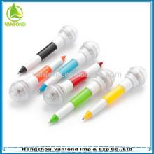 Best popular mini light pen with key chain for gift