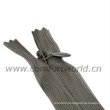 Cremallera estándar invisible # 3 cremallera de la falda