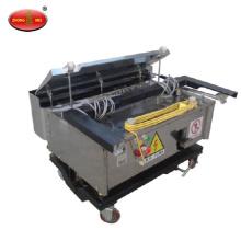 automatic lifting flexible gypsum mortar plastering wall plaster machine
