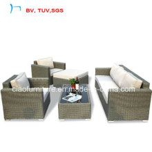 Горячая Продажа садовая мебель из ротанга диван набор (CF969)