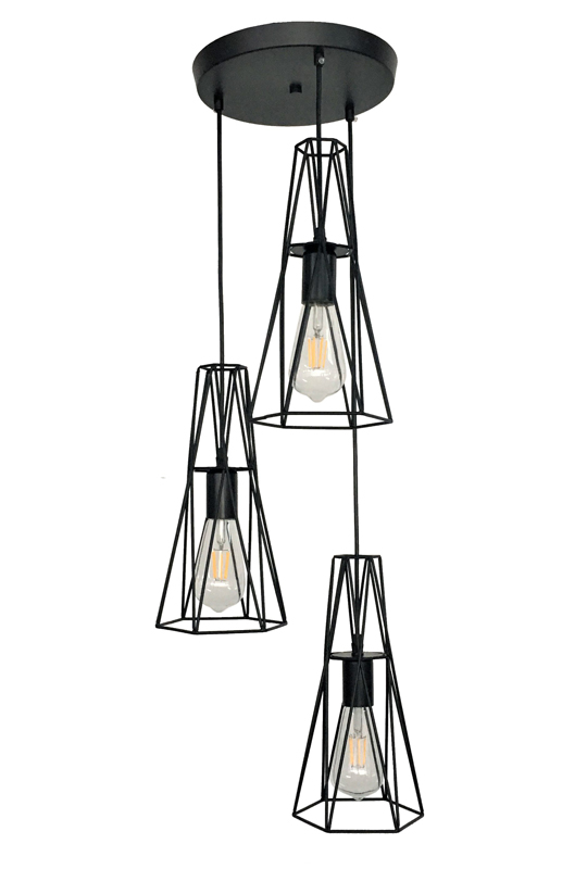 Multi Lamp Black