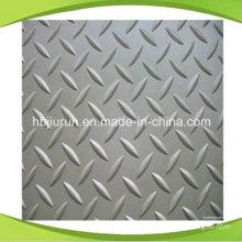 Grey Diamond Rubber Flooring Sheet