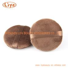 Ribbon Soft Facial Puff Custom Packing