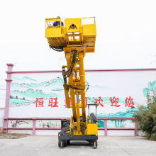 Highway and railway slope reinforcement rigs Crawler-type slope protection anchoring rigs price