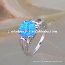Nice Oval Cut Diamond Opal Ring projeta para as mulheres, o melhor presente de casamento