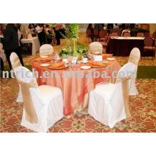 100 % Polyester Stuhlabdeckung, Bankett-Stuhl-Abdeckung, Hotel Stuhlabdeckung