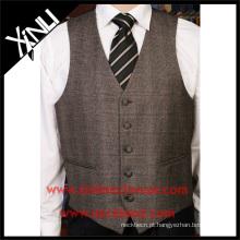 Design de colete mais recente barato por atacado formal de alta qualidade para homens