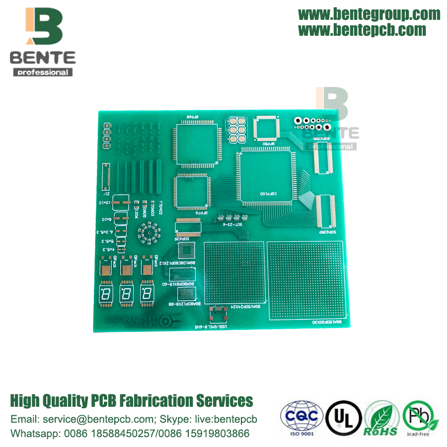 6 Lagen IT180 PCB High-precision Multilayer PCB ENIG 2u ""