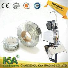 103020g10 Cable de costura plana galvanizado