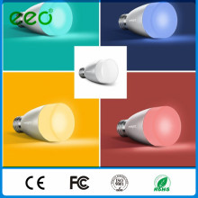 China Preço de Fábrica Material PC 6W 220V SMD 2835 E27 Lâmpada LED, Remote Smart Lighting