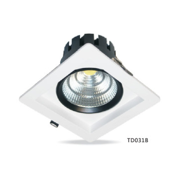 Downlight LED cuadrado COB 9W