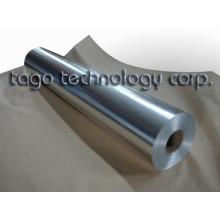 Feuille d'aluminium double face avec fibre de verre