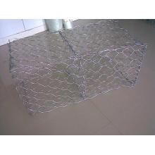 Diamond Galvanized / PVC Coated Gabion Box