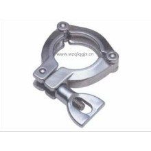 13tp Sanitary Stainless Steel 3 Pieces Tc Tri Clover Clamp