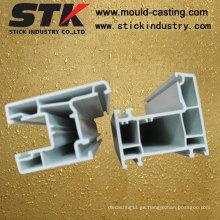 PVC perfil de extrusión de plástico para nevera (STK-PE001)