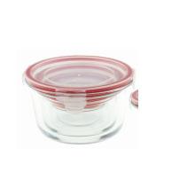 Saladeira de vidro de 0.15L com tampa