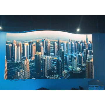 Light Weight Cabinet Indoor Curved LED Display