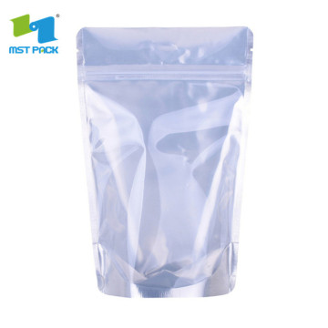 250g Plastik Aluminium Foil Stand Up Pouch Dengan Windows