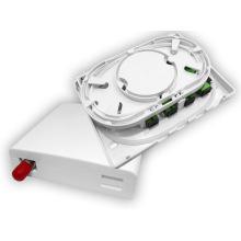 plastic metal 4 / 8 / 12 / 16 / 24 / 48 cores ftth fiber optic terminal box , ftth fiber optic distribution box