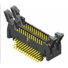 2.54mm Cabezal eyector 90 ° conector de doble capa