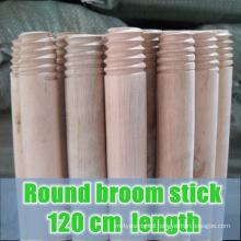 round broom stick, 120 length round broom stick , round wooden broom stick