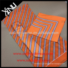 Lenço impresso de seda personalizado