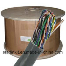 UTP Cat5e Copper 50 Pair Telephone Cable for Telecommunication