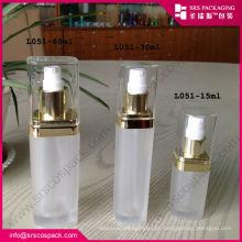 China produtos quentes vazio 15ml 30ml 60ml 120ml transparente acrílico recipientes