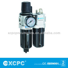 Air Source Treatment-XACP Series Filter&Regulator Lubricator-FRL-Air Preparation Units-Air Filter Combination