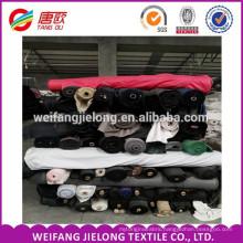 In Stock Fabric Poplin Pocket Lining Fabric whloesale 100gsm polyester cotton poplin stock lot fabric