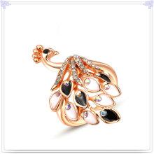 Accesorios de moda Anillo de aleación de joyería de cristal (AL0001RG)