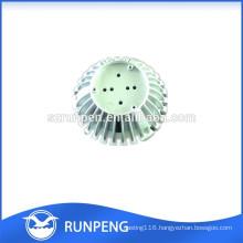 Aluminium Die Casting LED Light Heronsbill Heatsink Parts
