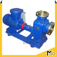Pompe centrifuge auto-amorçante horizontale pour eaux usées
