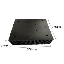 El disipador de calor de aluminio para ventilador.