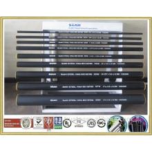 """Tubo de acero de 1/2 """"- 8-5 / 8"""" según API, ASTM, BS EN .. o tubería de acero soldada, tubería de acero de milla, tubo de acero galvanizado"""
