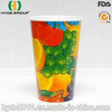 12oz Cheap Cold Drink Paper Cup with Lid (12oz)