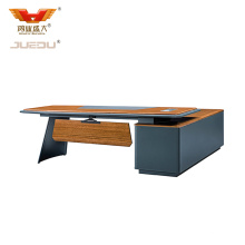 Laminate Modern Wooden Office Furniture Executive Desk