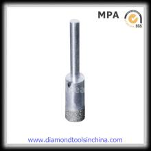 Pedacito de taladro de base del diamante 9mm