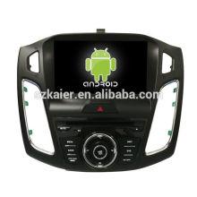 ¡Ocho nucleos! DVD de coche Android 8.0 para Ford Focus 2018 con pantalla capacitiva de 9 pulgadas / GPS / Enlace espejo / DVR / TPMS / OBD2 / WIFI / 4G