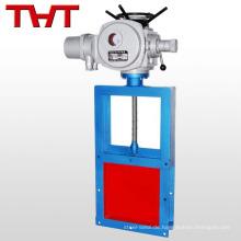Elektrisches Druckgußeisen / Gußstahlschleusenventil mit Zeichnung