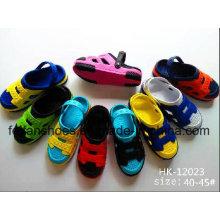 Zapatos de jardín para niños, zuecos de EVA para niños, zapatillas de playa ocasionales para niños