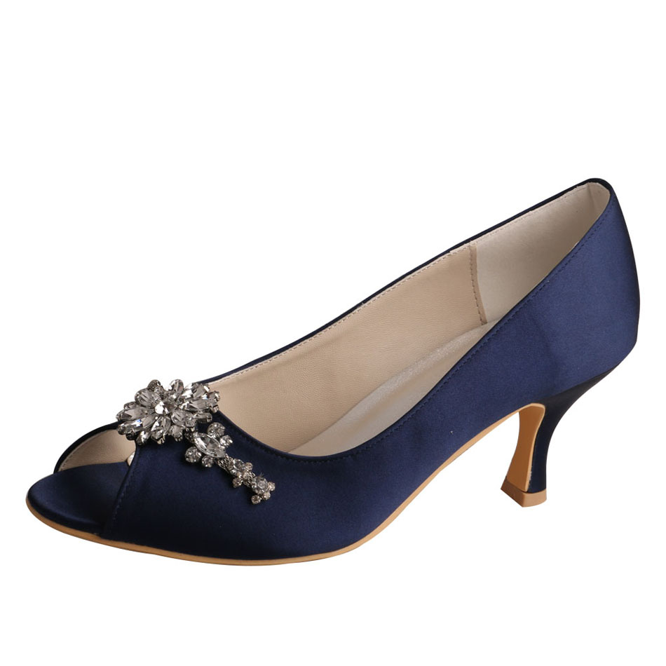 Blue Heels for Wedding